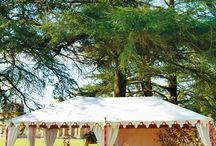 Event Styling / Each tent is uniquely customised by our clients and stylists to create a truly luxurious atmosphere and look for any type of event. Raj Tent Club offers an extensive range of options for styling, from classic creams and gold to more vivid bold colour choices. Whats your favourite?
