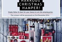WIN A HARRODS CHRISTMAS HAMPER WORTH £750 / WIN A HARRODS CHRISTMAS HAMPER WORTH £750 Simply follow & Share for your chance to win