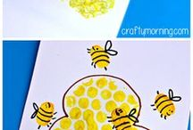 Bee Art projects