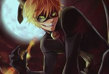 Miracolous Ladybug and Chat Noir / Illustration about Miracolous LB