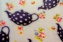 Garden Tea Party Fabric