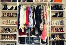 wardrobe / closet  / by sabrina b