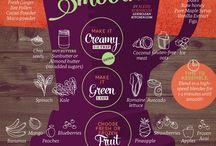 Good foods & drinks / Clean kitchen