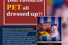 Photobooth at Pet Supplies Direct Harbourtown / Flyer for Photoshoot