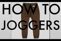 Jogger pants/bottoms