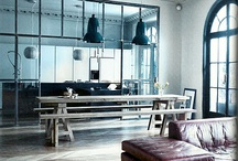 Kitchen interior glass