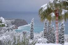 Mallorca im Winter / Wie sieht Mallorca eigentlich im Winter aus, wenn Schnee auf der Insel liegt?
