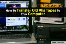 Transferring VHS recordings to Computer