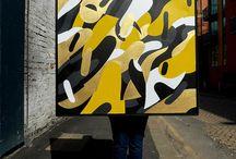 Florence Blanchard / fresques, mural, illustration, graffiti, Dropman, street art, pop suréaliste,