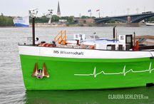 MS Wissenschaft 2011 > Health Research / Since 2002 the exhibition ship MS Wissenschaft (MS Science) is going on tour with an interactive exhibition as a floating science centre.