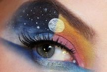 Great artistic make-up