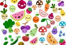 Color en la cocina / La cocina es alegria y llena de colores que alegran a toda la familia.Continuemos la tradicion de la sobremesa con muchos colores.