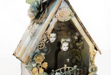 Altered, Found Object, & Mixed Media Art / by Jaimi B