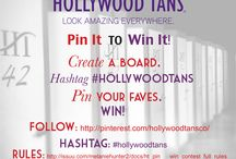 Pin it to Win it /  Hollywood Tans contests on Pinterest