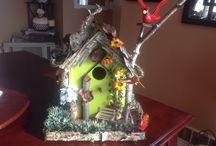 Bird houses / My custom hand made bird houses