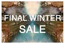 FINAL SALE / Have a look in our store and get up to 60% off.  Save the last pieces!