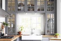 Small kitchens / by Kristen Canale Everhart