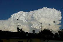 Nuvole / Pensieri e nuvole nuove illustrazioni all'aria aperta