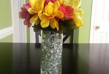 Flower arrangement from the dollar store