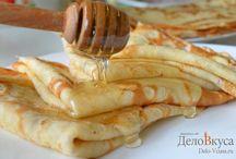 Рецепты блинов / Пошаговые рецепты разнообразных блинов :) #блины #рецепты #кулинария