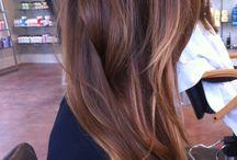 Hair colour & styles