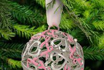 Breast Christmas Ornaments