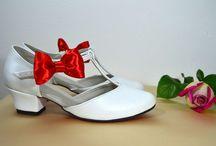 Svatební boty v retro stylu / Svatební boty retro styl, svadobné topánky retro štýl, svadobné lodičky, svadobné sandálky 60´roky. Svatební lodičky, svatební sandálky 60´léta. Nechte se inspirovat kreativitou našich nevěst.