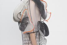 Distortion project / Second uni project for fashion design