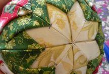 Bola de Navidad patchwork