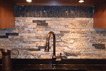Recycled Granite / Scrap from countertop fabricators into gorgeous split stone granite tiles, pavers, jewelry, art, landscaping and more! Granite has been around for billions of years. Perhaps its most useful service is as luxury countertops. Unfortunately, the unused scrap portions of that slab has clogged our nations landfills. By repurposing the pieces, not only are these precious building materials being diverted from the landfill, there is energy and resources saved from having to harvest additional granite. / by NWSArealty.com
