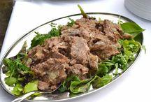 Piatti con carne chianina
