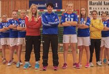Vigrestad IK Team photos / Handball team photos 2014-2015 Umbro kits