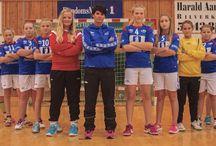 Vigrestad IK Team photos / Handball team photos 2014-2015 Umbro kits