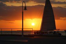 Sunsets that sizzle! / #Sunsets #Sunset #colors #orange #pink #red #spectacular #amazing #awesome #aweinspiring #phenomenal #tranquil #peaceful #Celebration #celebrate #alpineglow / by David Heath