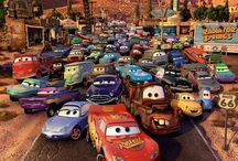 Cars (Disney-Pixar) / Pixar with NASCAR... It's like the franchise was written for me <3