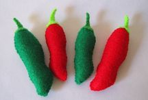 felt foods - chili peppers