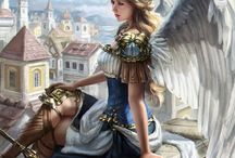 mujeres angelicales