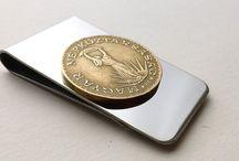 Coin money clips / Money clips