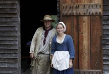 Colonial life / The world if Sassy and Will, Alec and Beth in 1770's and 1780's