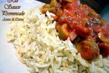 Riz sauce provencale