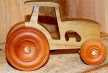 auta z drewna