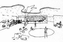 Sketch Designs Oscar Niemeyer / Schetsen Oscar Niemeyer