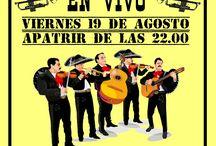 Espectaculo de mariachis / Mariachis en vivo