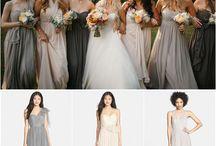 bridesmaids dresses / by Ilsa Sonnemann