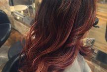 mahogany brown hair