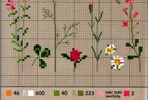 flowers stitch