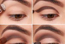 Инструкции по макияжу глаз