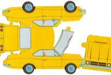 carros de papercraft