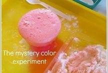 Preschool experiments