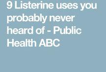 Listerene uses